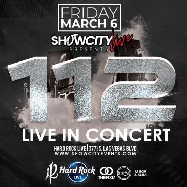 112 Live in Las Vegas: Main Image