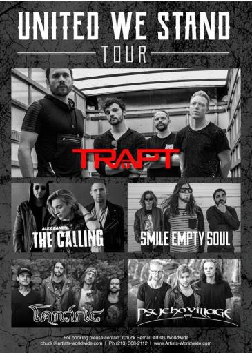 Trapt, The Calling, Tantric, Smile Empty Soul: Main Image