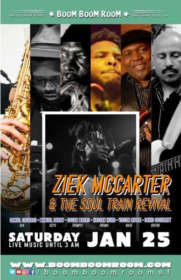 Ziek McCarter & The SOUL TRAIN REVIVAL (+ DJ K-OS): Main Image