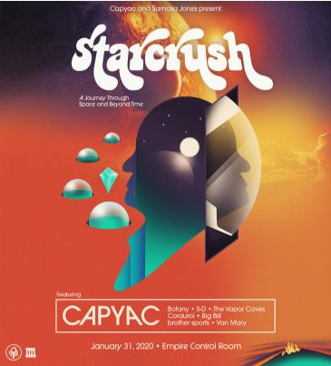 Starcrush ft. CAPYAC, Botany, 5-D and more: Main Image