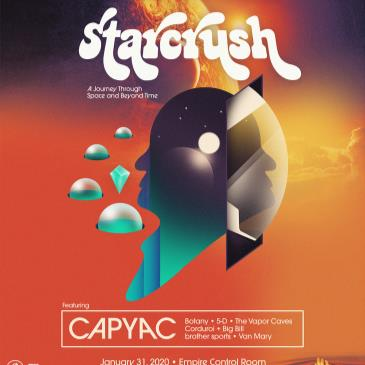 Starcrush ft. CAPYAC, Botany, 5-D and more-img