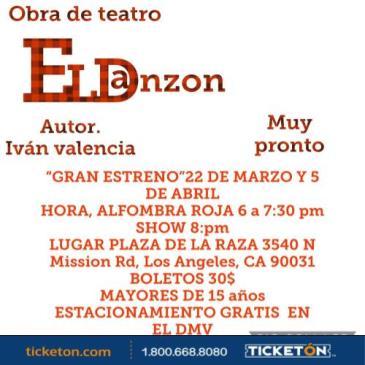 POSTPONED-OBRA DE TEATRO EL DANZON