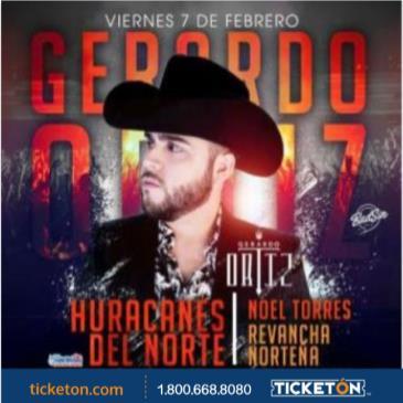 GERARDO ORTIZ / HURACANES DEL NORTE