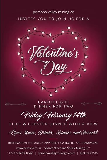 Valentine's Day: A Candlelit Dinner For Two: Main Image