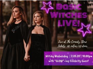BASIC WITCHES: LIVE!: Main Image