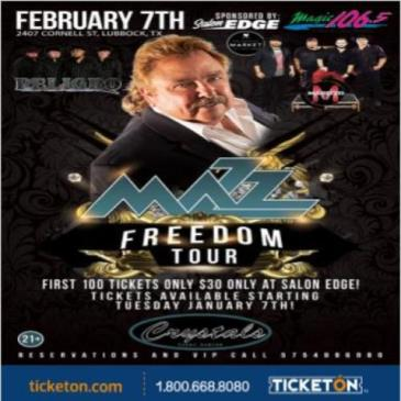 MAZZ FREEDOM TOUR: Main Image