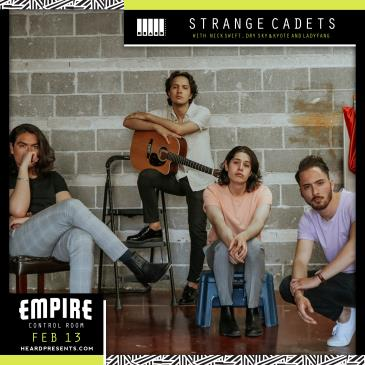 Strange Cadets with Nick Swift and Dry Sky & Kyote + more: Main Image