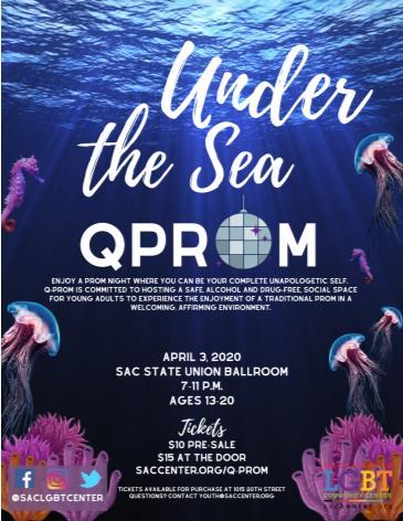 """Under the Sea"" Q-Prom! (Postponed TBA): Main Image"