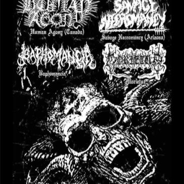 Human Agony, Savage Necromancy, Baphomancia, Morietur-img