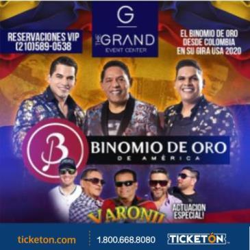 BINOMIO DE ORO Y GRUPO VARONIL