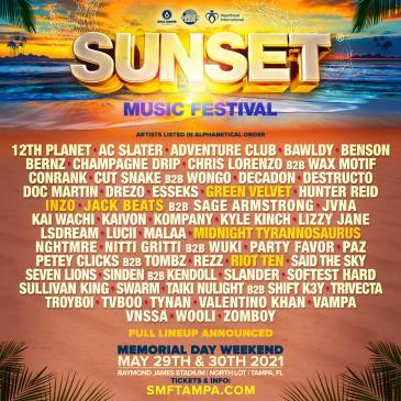 Sunset Music Festival 2021: Main Image