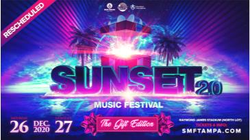 Sunset Music Festival 2020: Main Image