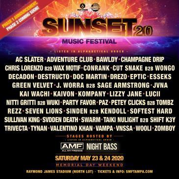 Sunset Music Festival 2020: Main Image