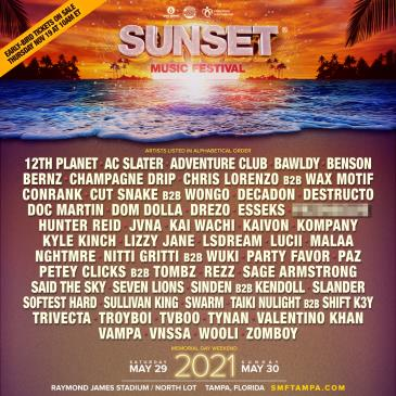 Sunset Music Festival 2021: Main Image