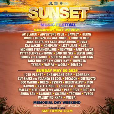 Sunset Music Festival 2021: