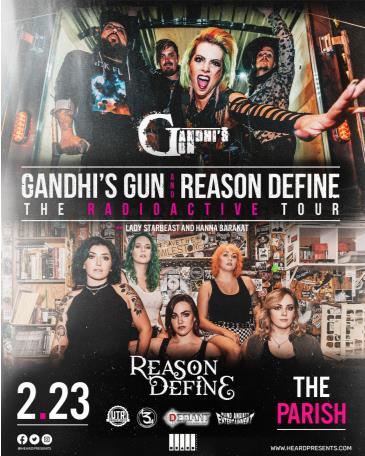 Gandhi's Gun w/ Reason Define, Lady Starbeast  & More: Main Image
