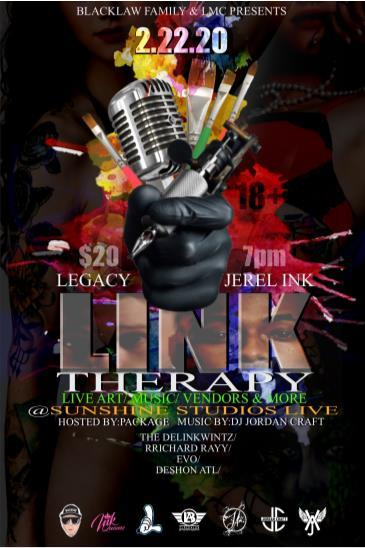 Link Therapy Art & Music Party: Main Image