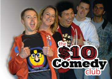 The $10 Dollar Comedy Club 2 for 1 Seats: Main Image