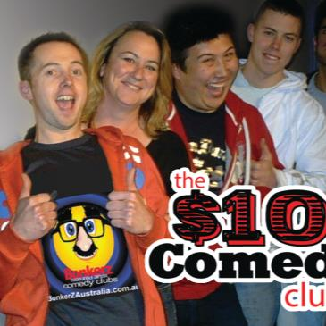BonkerZ $10 Dollar Comedy Club 2 for 1 Seats T-Shirt Show-img