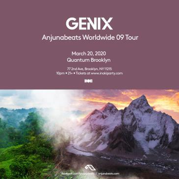 Genix: Anjunabeats Worldwide 09 Tour-img