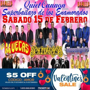 LOS MUECAS, SONORA SANTANERA: Main Image
