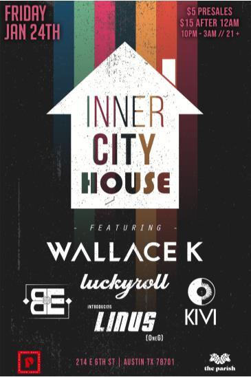 Inner City House (Night Mass): Main Image