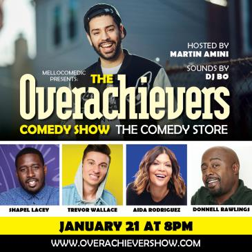 The Overachievers: Donnell Rawlings, Aida Rodriguez +more-img