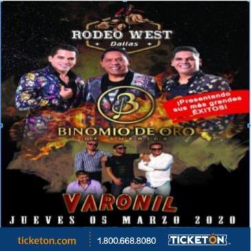 BINOMIO DE ORO Y GRUPO VARONIL: Main Image