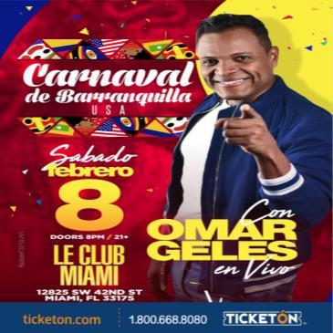Carnaval de Barranquilla con Omar Gelles