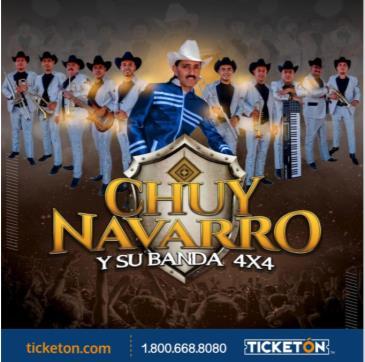 CHUY NAVARRO Y SU BANDA 4X4: Main Image