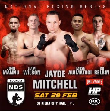 National Boxing Series: Main Image