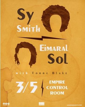 Sy Smith and Eimaral Sol with Torre Blake: Main Image