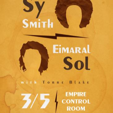 Sy Smith and Eimaral Sol with Torre Blake-img
