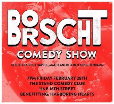 Borscht: A comedy show for good!: Main Image