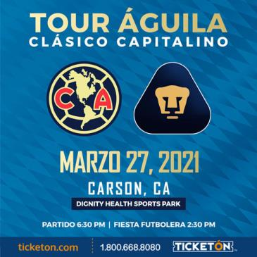 CLUB AMERICA VS PUMAS: Main Image