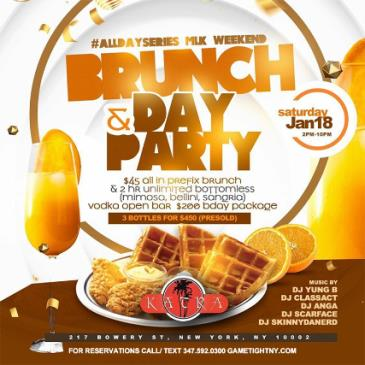 Katra Lounge Saturday MLK Weekend Brunch & Day Party-img