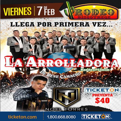 Banda El Limon Macon Tickets Boletos Rodeo Discoteque