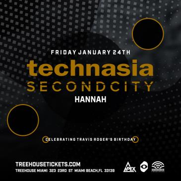 Technasia + Second City @ Treehouse Miami: Main Image