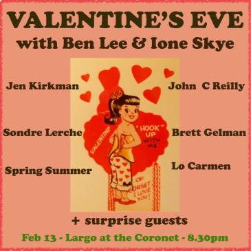 """Valentine's Eve"" with Ben Lee & Ione Skye-img"