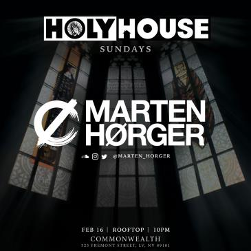 HOLY HOUSE N°45 — Marten Horger (21+): Main Image