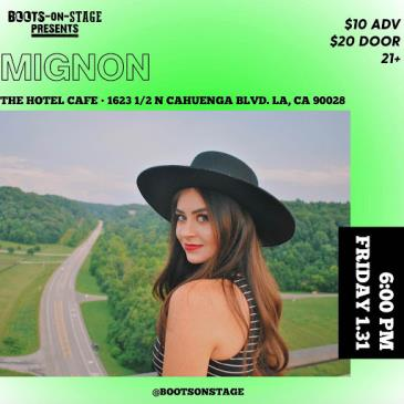 Boots On Stage Presents: Mignon-img