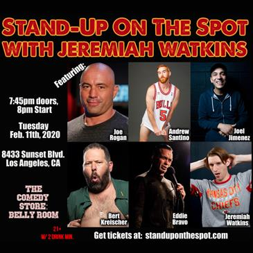 Stand Up on the Spot with Joe Rogan, Bert Kreischer +more!: Main Image