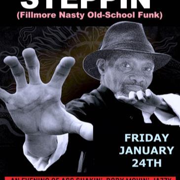 "Oscar Myers' *STEPPIN* (""James Brown Funk"") + DJ K-OS-img"