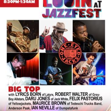 BIG TOP (Walter,Daru,Pastorius,LyricsBorn+) @OEJ Nola-img