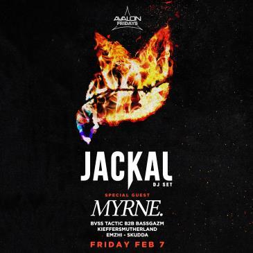 JACKAL + SPECIAL GUEST: MYRNE.: Main Image
