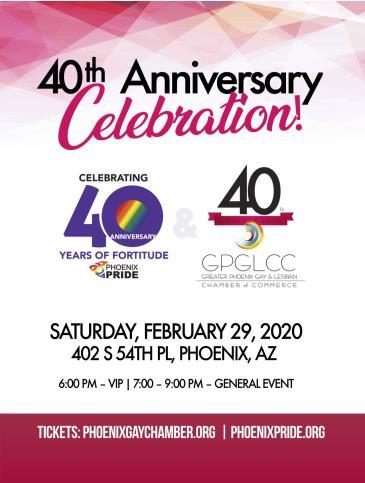 40th Anniversary Celebration: Main Image
