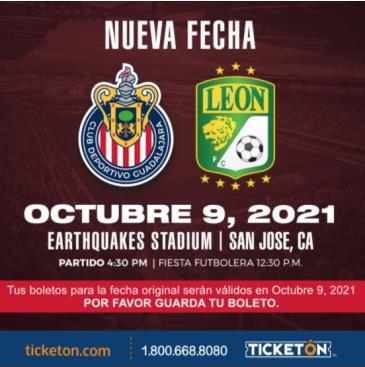 CHIVAS DE GUADALAJARA VS LEON: Main Image
