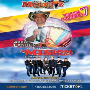 ANDRES LANDERO JR. Y LA MISION COLOMBIANA: Main Image