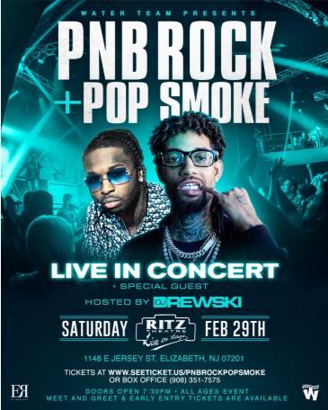 PNB Rock, Pop Smoke, & Friends Live (CANCELLED): Main Image