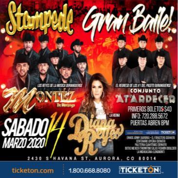 Montez De Durango |  Conjunto Atardecer y Diana Reyes